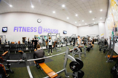 Спортивный зал: Fitness House